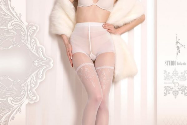 Bridal tights and hold ups for short and long wedding dresses