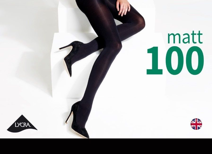 100 denier tights from Charnos