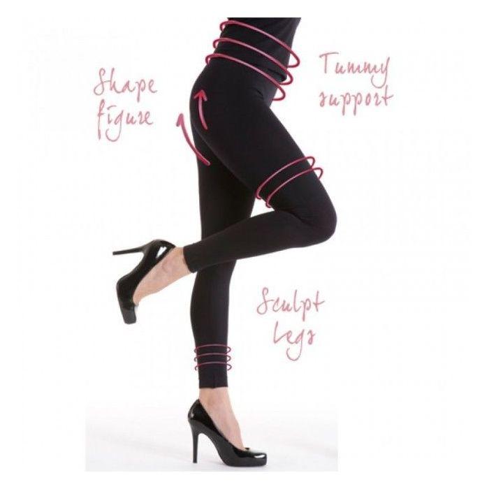 Silky Look Great Shaping Leggings